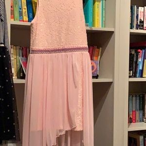 Baby pink girls dress
